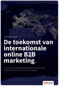 Download de 'De toekomst van internationale online b2b marketing - Maxlead whitepaper'