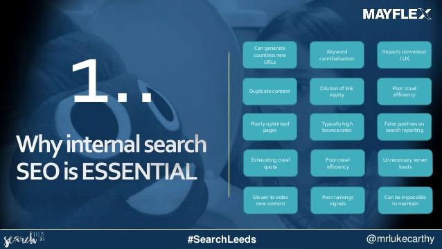 waarom internal search