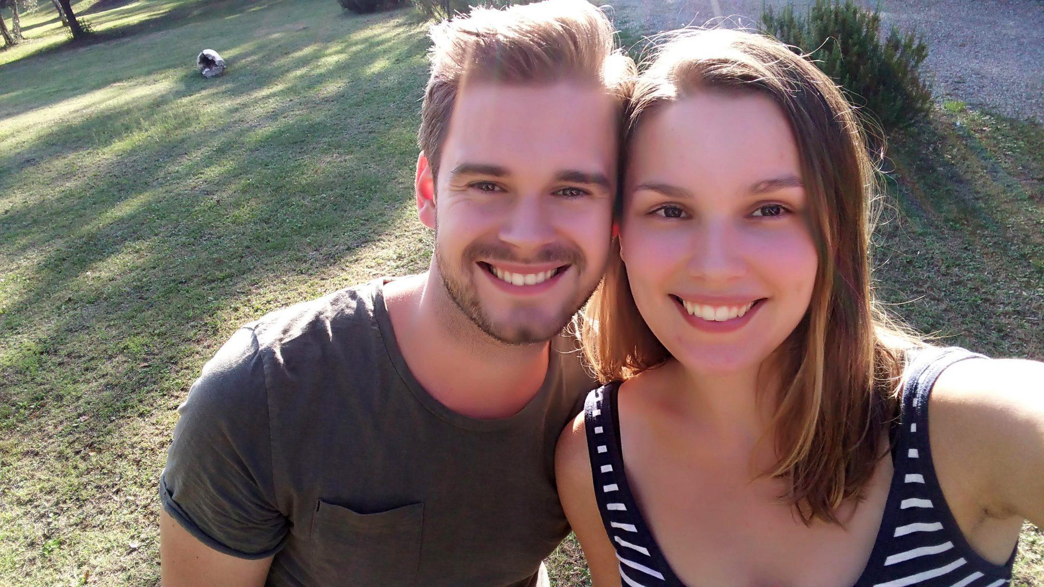 Jeroen met vriendin