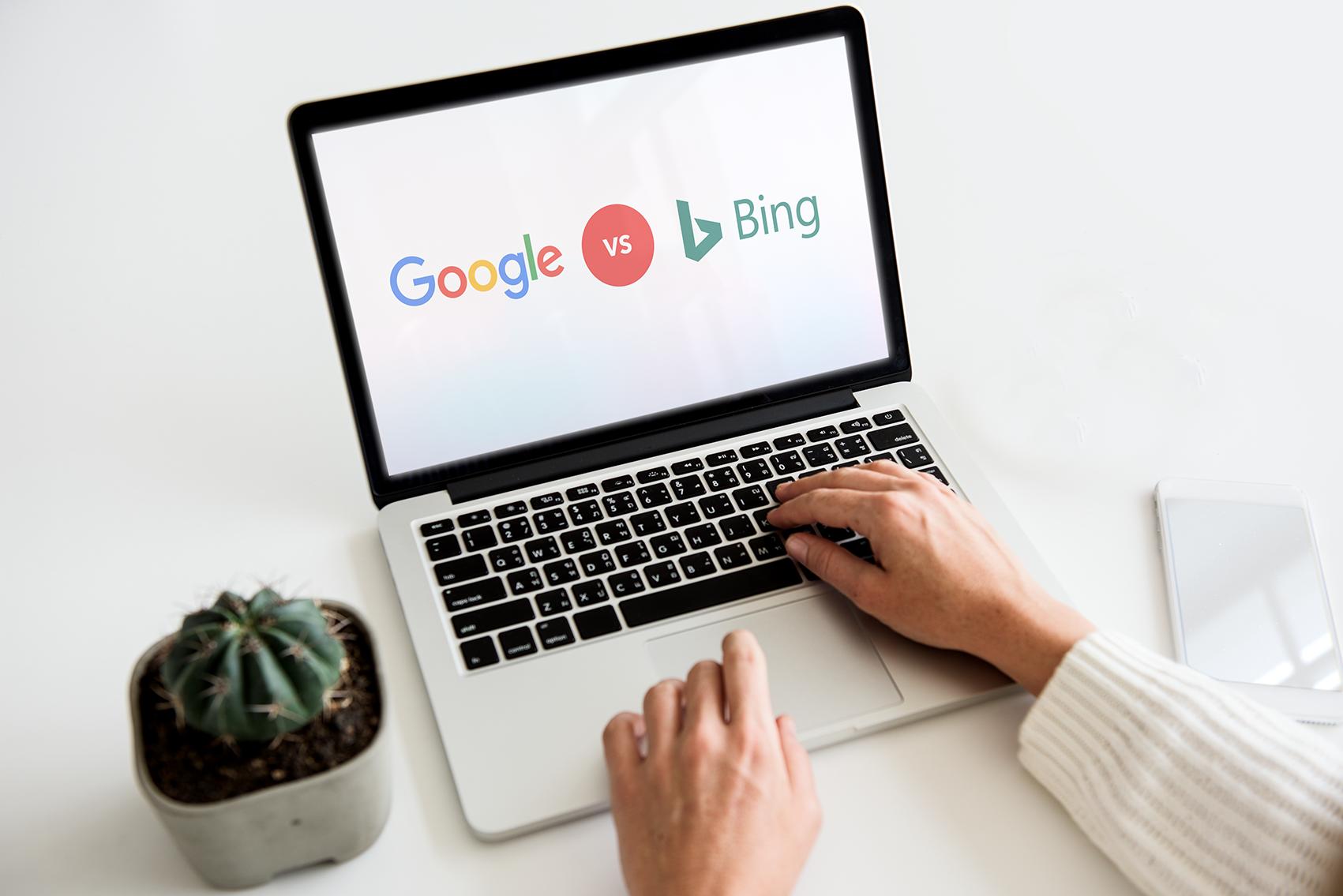 7 belangrijke verschillen tussen hoe Bing en Google werken