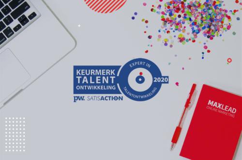 Maxlead ook in 2019 beste digital marketing bureau in Nationaal Onderzoek Talentontwikkeling